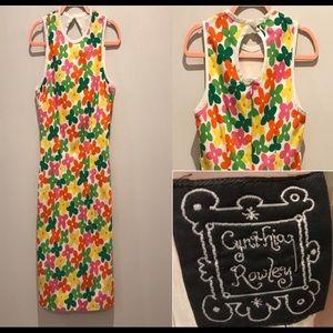 Cynthia Rowley Mod Style Flower Print Dress.
